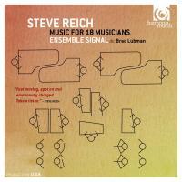 Music for 18 musicians / Steve Reich, comp.   Reich, Steve (1936-....). Compositeur. Comp.