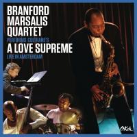 Performs Coltrane's A love supreme live in Amsterdam Branford Marsalis Quartet, ens. instr. John Coltrane, comp.