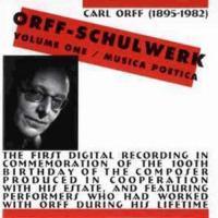 Orff - Schulwerk : vol. 1, musica poetica