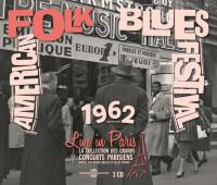 AMERICAN FOLK BLUES FESTIVAL 1962 : live in Paris | Memphis Slim - p, voc.
