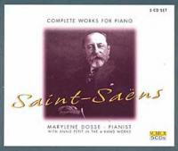 Complete works for piano = Oeuvres complètes pour piano | Saint-Saëns, Camille (1835-1921). Compositeur