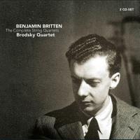 The Complete string quartets Benjamin Britten, comp. Brodsky Quartet, ens. instr.