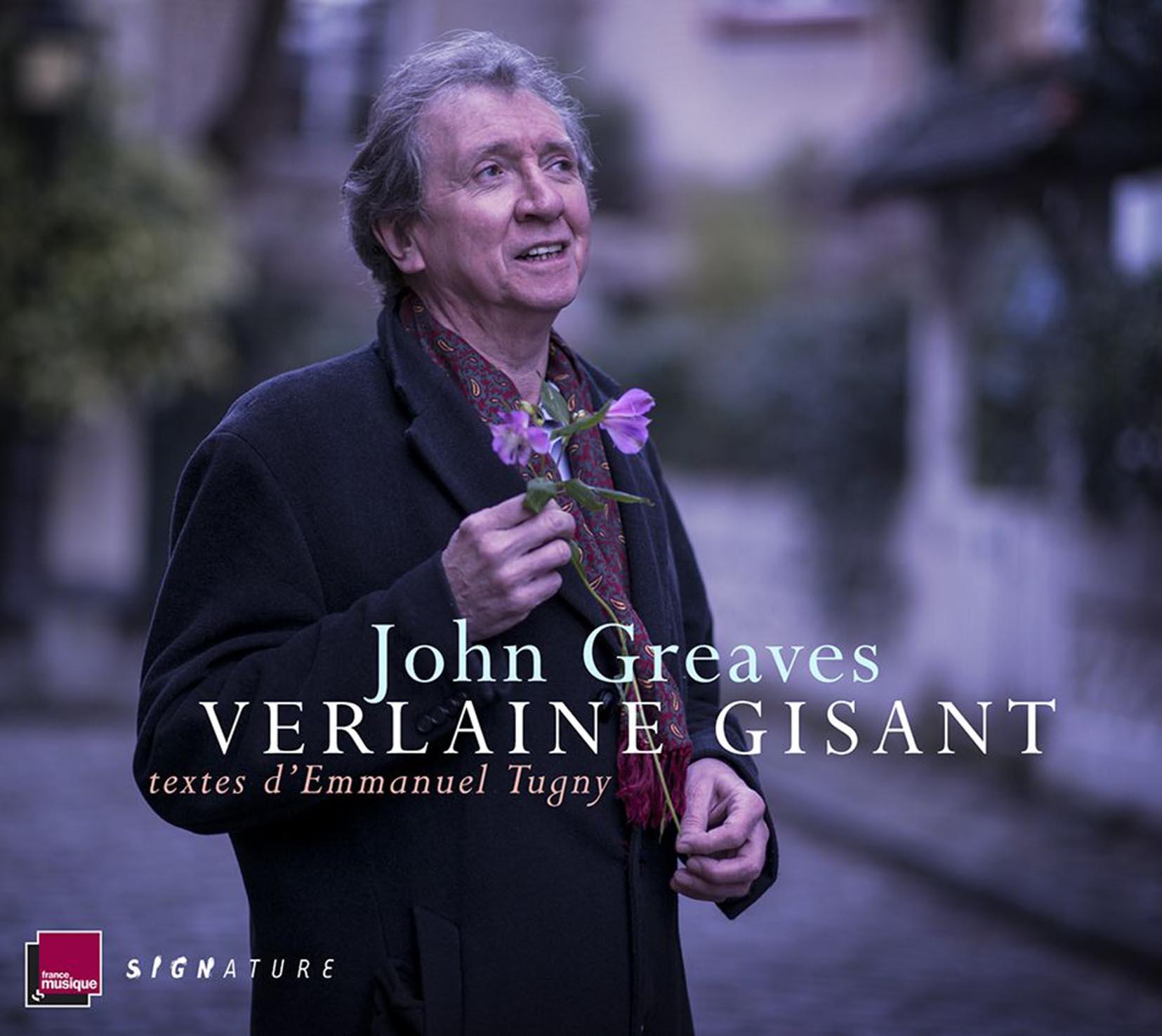 Verlaine gisant : textes d'Emmanuel Tugny   Greaves, John