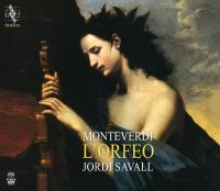 L'Orfeo : favola in musica in un prologo e cinque atti