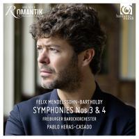 SYMPHONIES Nos 3 & 4 | Mendelssohn Bartholdy, Felix (1809-1847)