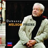 Préludes Livre I D'un cahier d'esquisses Children's corner Clair de lune Debussy, comp. Nelson Freire, piano
