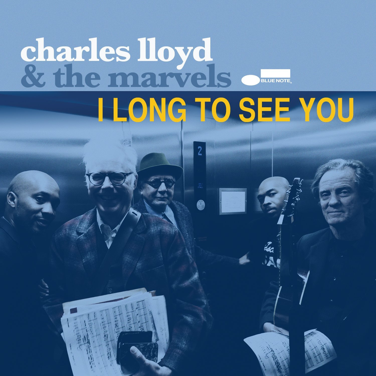 I long to see you Charles Lloyd, compositions & saxophone ténor Norah Jones, Willie Nelson, chant Marvels (The), ensemble instrumental