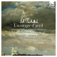 Orage d'avril (Un) : suites from Musikalische Ergötzung, canon & gigue, arias / Johann Pachelbel, comp. | Pachelbel, Johann (1653-1706). Compositeur. Comp.