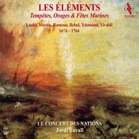 Eléments (Les) : tempêtes, orages & fêtes marines 1674-1764 | Vivaldi, Antonio (1678-1741). Compositeur