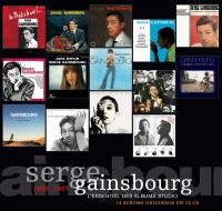 L' Essentiel des albums studio 1958-1987 Serge Gainsbourg, comp., chant Jane Birkin, chant