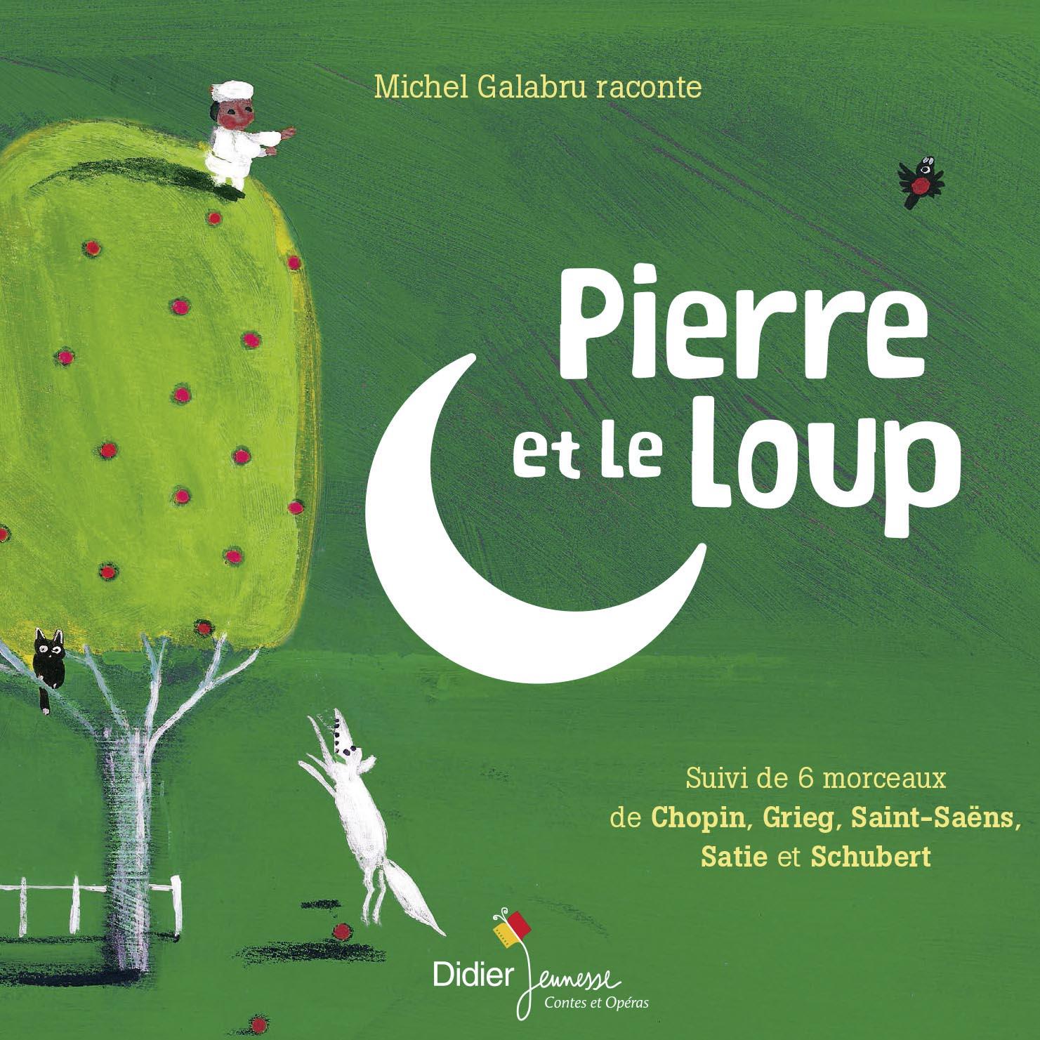 Pierre et le loup Sergueï Prokofiev, comp. Michel Galabru, narr. Thierry Fischer, dir. Orchestre de Chambre de Genève, ens. instr.