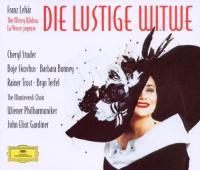 Lustige Witwe (Die) = La veuve joyeuse / Franz Lehar ; Cheryl Studer, Barbara Bonney, Rainer Trost, Bryn Terfel, Monteverdi choir, Wiener Philharmoniker sous la dir. de John Eliot Gardiner |