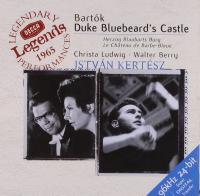 Duke bluebeard's castle = Le château de Barbe-Bleue / Béla Bartok, Christa Ludwig, Walter Berry, London symphony orchestra, Istvan Kertesz |