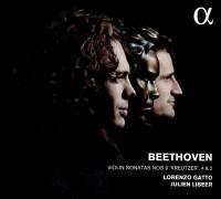 "Violin sonatas = Sonates pour violon n° 9 ""Kreutzer"", n° 4 et n° 2 Ludwig van Beethoven, comp. Lorenzo Gatto, violon Julien Libeer, piano"