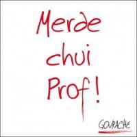 Merde chui prof ! | Govrache