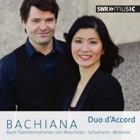 Bachiana : Bach-Transformationen von Moscheles, Schumann, Reinecke / Johann Sebastian Bach | Bach, Jean-Sebastien (1685-1750). Compositeur