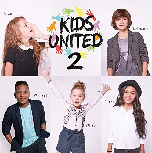Kids United 2 Kids United, ens. voc. & instr. Inaya, Black M, Corneille, chant