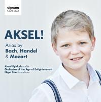 Aksel ! arias by Bach, Händel & Mozart