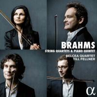 String quartets & piano quintet Johannes Brahms, comp. Till Fellner, piano Belcea Quartet, ens. instr.