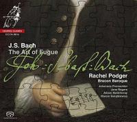 The art of fugue = L'art de la fugue die Kunst der Fuge / Johann Sebastian Bach ; Rachel Podger, violon, Brecon Baroque orchestra   Bach, Johann Sebastian (1685-1750). Comp.