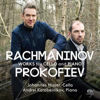 Works for cello and piano |