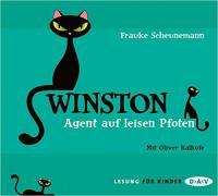 Winston, Agent auf leisen Pfoten | Frauke Scheunemann. Auteur
