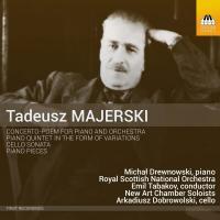 Concerto-Poem and other works / Tadeusz Majerski, comp.   Majerski, Tadeusz (1888-1963). Compositeur
