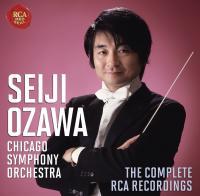The Complete RCA recordings | Seiji Ozawa (1935-....). Chef d'orchestre