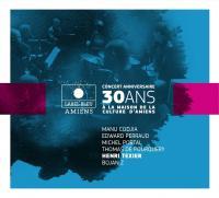 Concert anniversaire 30 ans Henri Texier, contrebasse et direction musicale Bojan Zulfikarpasic, piano et Rhodes Edward Perraud, batterie Manu Codjia, guitare... [et al.]