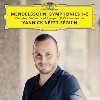 Symphonies 1-5 | Mendelssohn Bartholdy, Felix (1809-1847). Compositeur