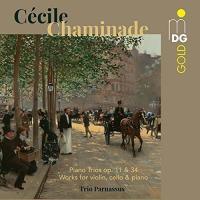 Piano trios / Cécile Chaminade, comp. | Cécile Chaminade