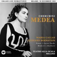 Medea Luigi Cherubini, comp. Maria Callas, soprano (Médée) Fedora Barbieri, mezzo-soprano (Neris) orchestra e coro del Teatro alla Scala di Milano Leonard Bernstein, direction... [et al.]