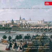 Prague - Vienna, journey in songs : music from eighteenth-century Prague