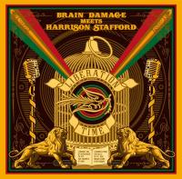 Liberation time Brain Damage, duo vocal et instrumental Harrison Stafford, chant