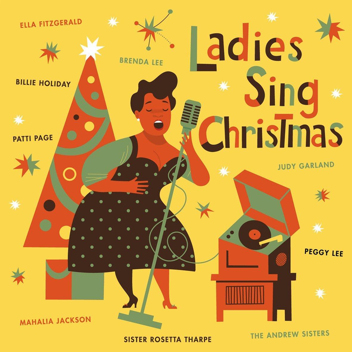 Ladies sing Christmas / ella Fitzgerald | Pierpont, James. Composition