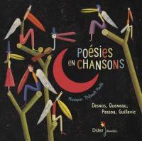Poésies en chansons : Desnos, Queneau, Pessoa, Guillevic