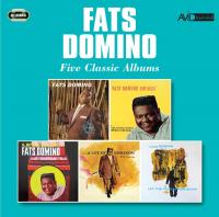 Five classics albums : The fabulous Mr. D . Swings . Let's play Fats Domino . A lot of Dominos . Let the four winds blow |