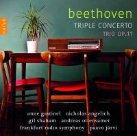 Triple concerto, pour piano, violon, violoncelle et orchestre, op. 56. Trio pour clarinette, violncelle et piano en si bémol majeur, op. 11 | Beethoven, Ludwig van (1770-1827)