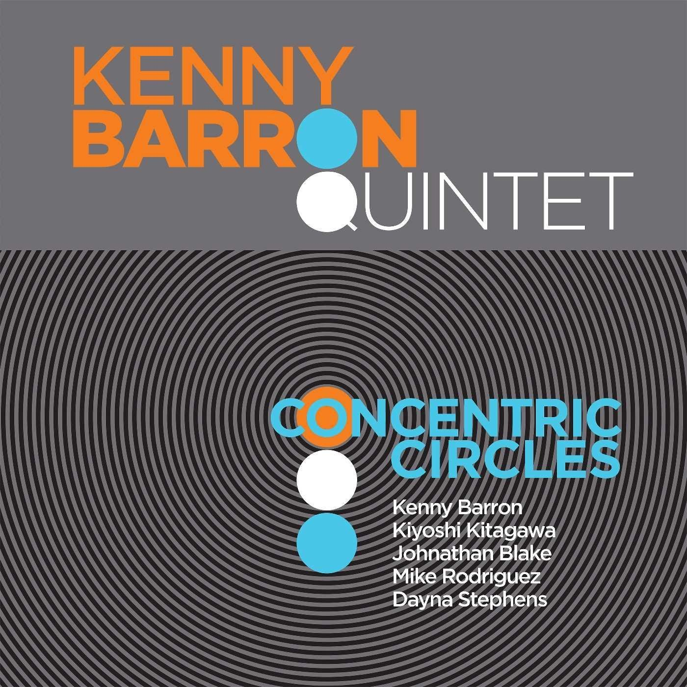 Concentric circles Kenny Barron Quintet, ensemble instrumental Kenny Barron, piano