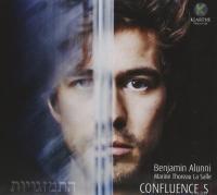 Confluence[S] : quand mélodie française et cultures juives s'embrassent / Graciane Finzi, Elsa Barraine, Darius Milhaud [et al.], compositeurs | Alunni, Benjamin (1983-....). BAR