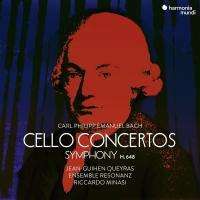 Cello concertos, Symphony H.648 = Concertos pour violoncelle, symphonie H.648 / Carl Philipp Emanuel Bach |