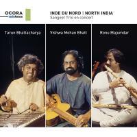 Inde du nord : Sangeet trio en concert | Bhattacharya, Tarun (1957-....). Cordes frottées - autre. Cithare