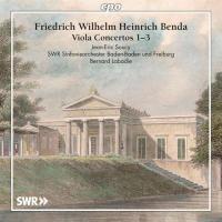 Concertos pour alto et orchestre, : n ̊ 1, fa majeur : n ̊ 2, mi bémol majeur : n ̊ 3, mi bémol majeur | Friedrich Wilhelm Heinrich Benda, Compositeur