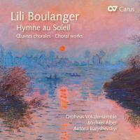 Hymne au soleil : oeuvres chorales / Lili Boulanger, comp. | Lili Boulanger
