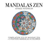 Mandalas zen : voyage intérieur | Nicolas Jeandot
