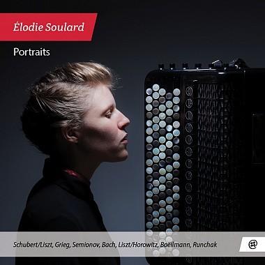 Portraits Franz Schubert, Volodymyr Runchak, Franz Liszt et al., compositions Elodie Soulard, accordéonn & bandonéon