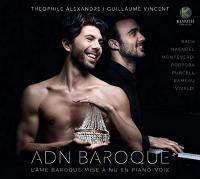 ADN baroque : l'âme baroque mise à nu en piano-voix   Alexandre, Theophile.
