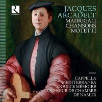 Motetti, madrigali, chansons | Arcadelt, Jacques (1504-1568). Compositeur