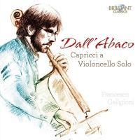 Caprices pour violoncelle seul | Giuseppe Dall'abaco