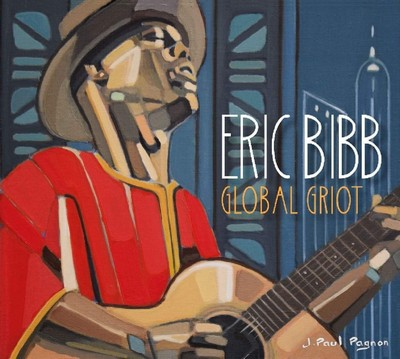 Global griot Eric Bibb, compositions, chant, guitare